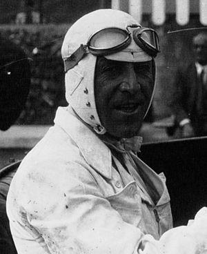 Marcel Lehoux - Marcel Lehoux at Monza in 1930