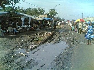 Bandundu (city) - Image: Marché de Bandundu