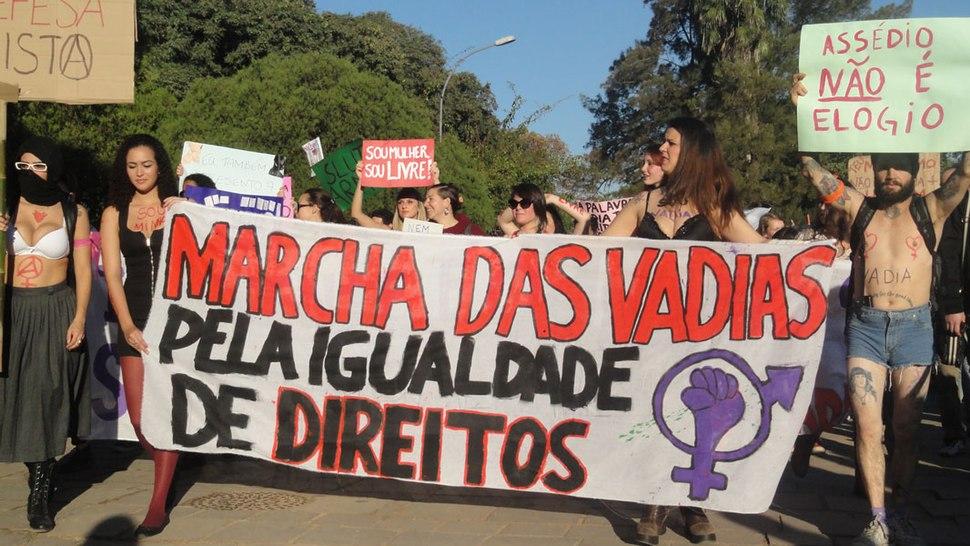Marcha das Vadias em Porto Alegre, 2013