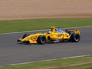 Marco Barba - Barba driving for Draco Racing at the Silverstone round of the 2008 Formula Renault 3.5 Series season