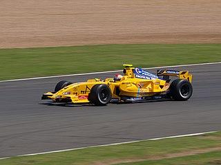 Marco Barba Spanish racing driver