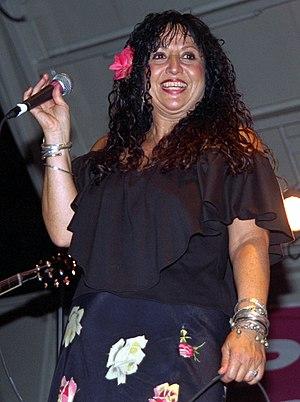 Maria Muldaur - Muldaur at the Riverwalk Blues Festival in Fort Lauderdale, 1996