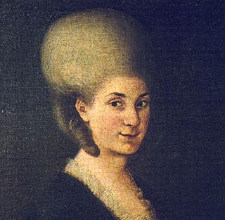 Maria Anna Mozart Austrian musician (1751-1829)