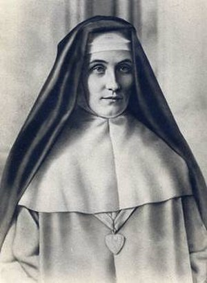 Mary of the Divine Heart - Portrait of Blessed Sister Mary of the Divine Heart, countess of Droste zu Vischering and Mother Superior of the Good Shepherd Convent in Porto, Portugal.