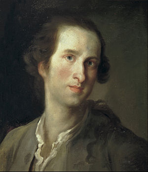 Mariano Salvador Maella - Self-portrait (early 1760s)