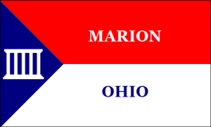 Marion, Ohio - Image: Marion OH Flag