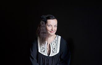 Marita Liulia - A portrait of Marita Liulia by Jari Kolehmainen, 2015.