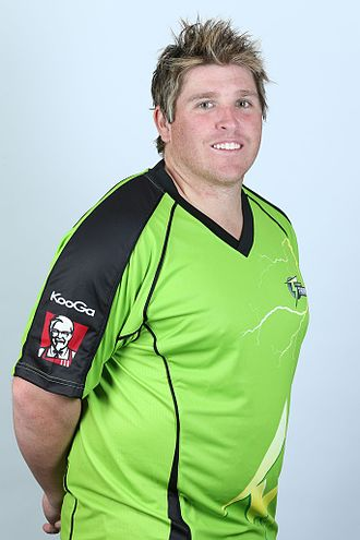Mark Cosgrove - Mark Cosgrove with Sydney Thunder in 2012.