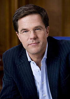 Mark Rutte 50th Prime Minister of the Netherlands