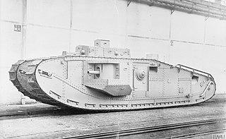 Mark VIII tank weapon