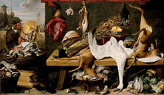 Frans Snyders - Market scene on a quay