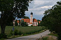 Markt Rettenbach - Mussenhausen - St 2013 Ri N, Klosterkirche v S.JPG