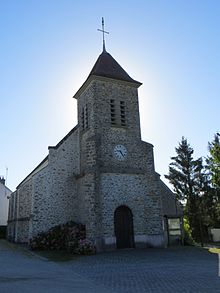 L'église Saint-Georges-et-Saint-Thomas-Beckett.