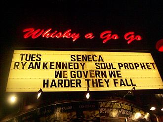 West Hollywood, California - Whisky a Go-Go on the Sunset Strip