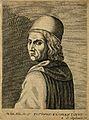 Marsilius Ficinus. Line engraving by E. de Boulonois, 1682, Wellcome V0001915.jpg