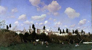 Gathering Oranges, Granada
