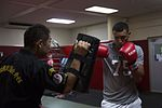Martial arts master kicks classes with Status of Forces Agreement personnel 160804-M-TA471-018.jpg
