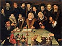 Martin Luther in the Circle of Reformers, German School, 1625-1650.jpg