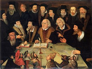 Martin Luther in the Circle of Reformers