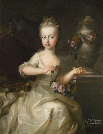 Mozart and smallpox - Archduchess Maria Josepha of Austria
