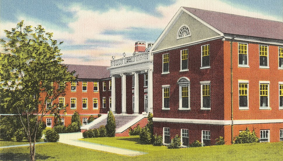 Mary Lyndon Dormitory for Girls, University of Georgia, Athens, Ga. (8342840185) (cropped)