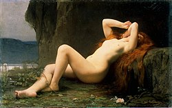 Jules Lefebvre: Mary Magdalene in a Grotto