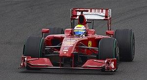 2009 British Grand Prix - Felipe Massa qualified in eleventh position.