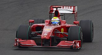 2009 British Grand Prix - Felipe Massa qualified in eleventh position.