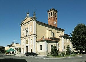 Massalengo - Image: Massalengo piazza chiesa