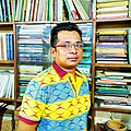 Masud Pathik, film director, lyricist and poet. Dhaka (2019)..jpg