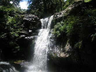 Matagalpa, Nicaragua - A waterfall in the Apante area of Matagalpa.