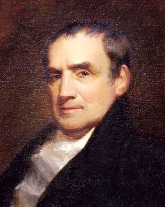 Mathew Carey - Mathew Carey by John Neagle (detail), 1825