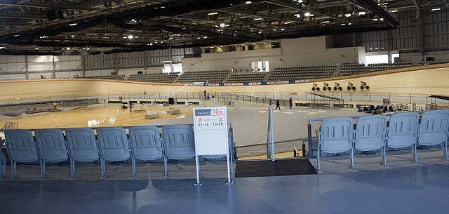 Mattamy National Cycling Centre By Whpq (Own work) [CC BY-SA 4.0 (https://creativecommons.org/licenses/by-sa/4.0)], via Wikimedia Commons