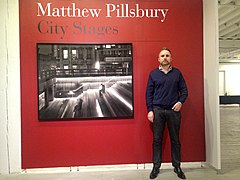 Matthew Pillsbury at the City Stages opening at Aperture Foundation, NYC.jpg
