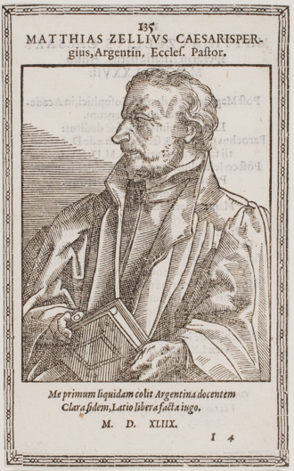 Matthäus Zell - Matthäus Zell