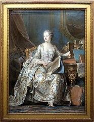 Madame de Pompadour in her Study
