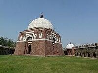 Mausoleum of Ghiyath al-Din Tughluq.jpg