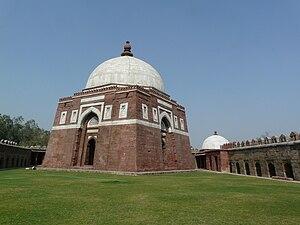 Ghiyath al-Din Tughluq - Ghiyath al-Din Tughlaq's Tomb In Delhi