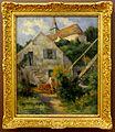 Maximilien LUCE, Rolleboise, l'église et la maison du peintre, 1927, musée de l'hôtel-Dieu, inv. 98.04.39.JPG