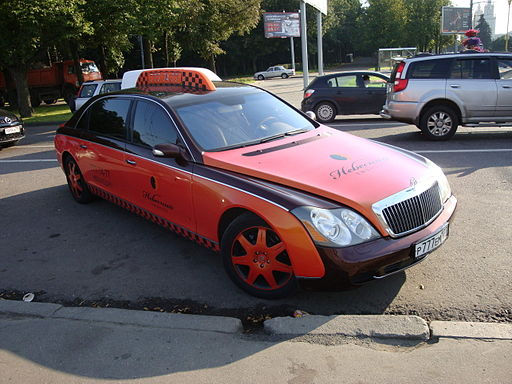 Maybach taxi Moscow 2