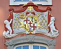 Meersburg Neues Schloss Stadtseite Wappen.jpg