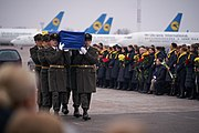 Meeting Bodies of Ukrainian Citizens from PS752 in Boryspil International Airport 30.jpg