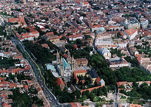 Baranya (region) - Image: Megyeszékhely Baranya megye Pécs