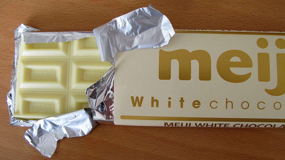 vit choklad smälter inte