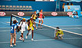 Melbourne Australian Open 2010 Venus & Serena Entrance.jpg