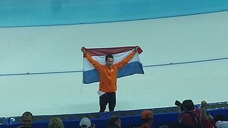Speed skating at the 2014 Winter Olympics – Men's 1000 metres - Image: Men's 1000m, 2014 Winter Olympics, Stefan Groothuis