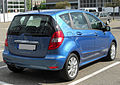 Mercedes A170 Elegance (W169) Facelift rear 20100501.jpg