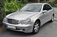 Mercedes C Stern Fur Motorhaube
