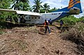 Merpati Nusantara Airlines Flight 9933(PK-NCZ) after accident.jpg