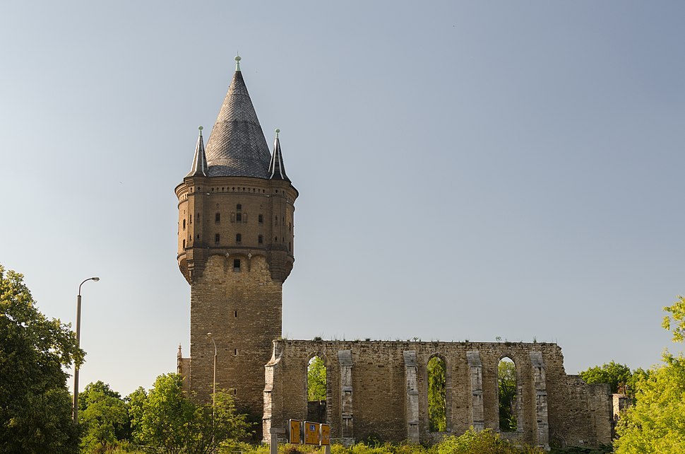 Merseburg, Kirchenruine Sankt Sixti, 001